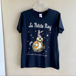 Star Wars French Rey & BB8 Top Le Petite Rey